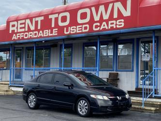 2011 HONDA CIVIC EX-L 4 DOOR SEDAN