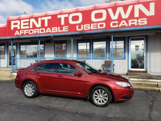 2013 CHRYSLER 200 TOURING 4 DOOR SEDAN