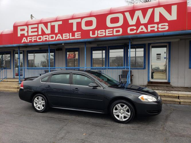 2013 CHEVROLET IMPALA LT 4 DOOR SEDAN