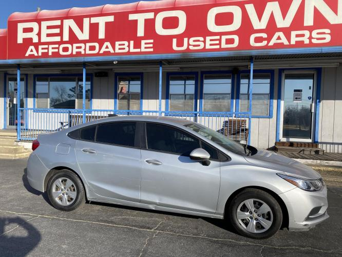 2016 CHEVROLET CRUZE LS 4 DOOR SEDAN