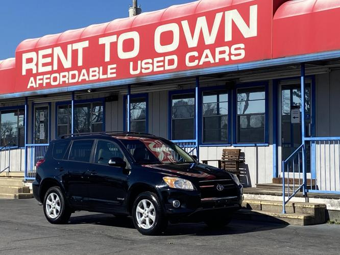 2011 BLACK TOYOTA RAV4 LIMITED (2T3DF4DV5BW) , located at 815 E Broadway St, North Little Rock, AR, 72114, (501) 801-6100, 34.755993, -92.259071 - Photo #0