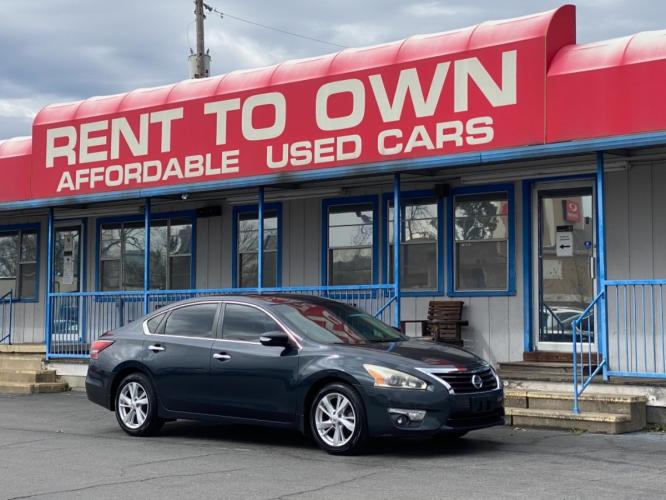 2015 BLUE NISSAN ALTIMA SV (1N4AL3AP1FC) , located at 815 E Broadway St, North Little Rock, AR, 72114, (501) 801-6100, 34.755993, -92.259071 - Photo #0