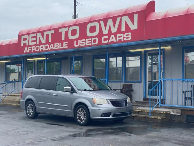 2013 CHRYSLER TOWN  and  COUNTRY TOURI 4 DOOR VAN; EXTENDED