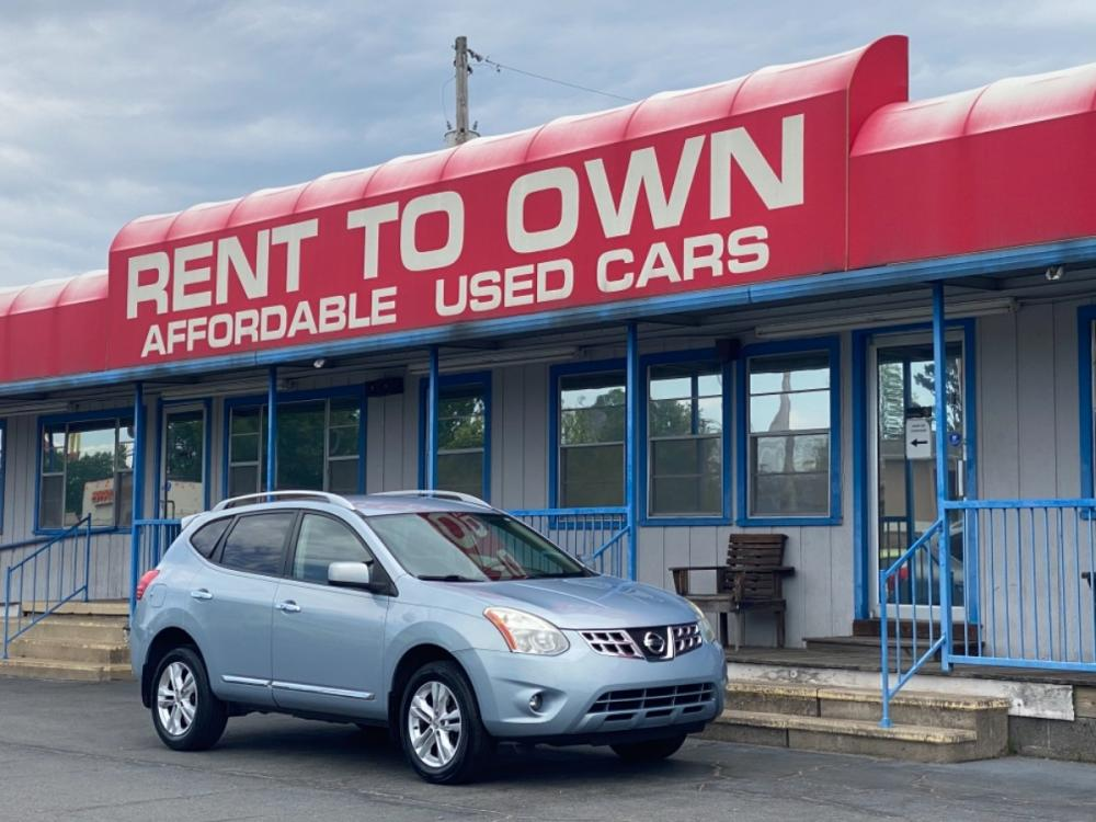 2013 BLUE NISSAN ROGUE SV (JN8AS5MT4DW) , located at 815 E Broadway St, North Little Rock, AR, 72114, (501) 801-6100, 34.755993, -92.259071 - Photo #0