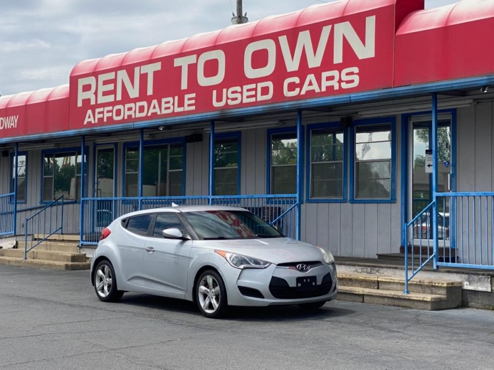 2012 SILVER HYUNDAI VELOSTER BASE (KMHTC6AD0CU) , located at 815 E Broadway St, North Little Rock, AR, 72114, (501) 801-6100, 34.755993, -92.259071 - Photo #0