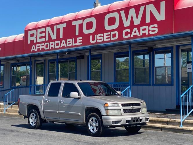 2009 CHEVROLET COLORADO LT 4 DOOR CAB; CREW